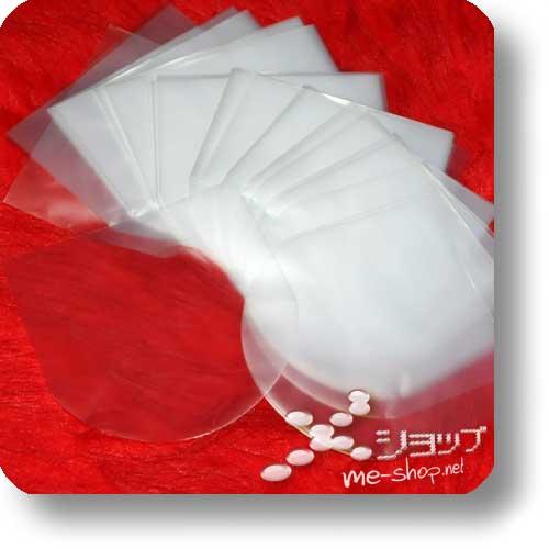 CD-INNENHÜLLE - transparent, orig. Japan! (10 Stück) (Schutzhülle / Japan-Sleeve)-0