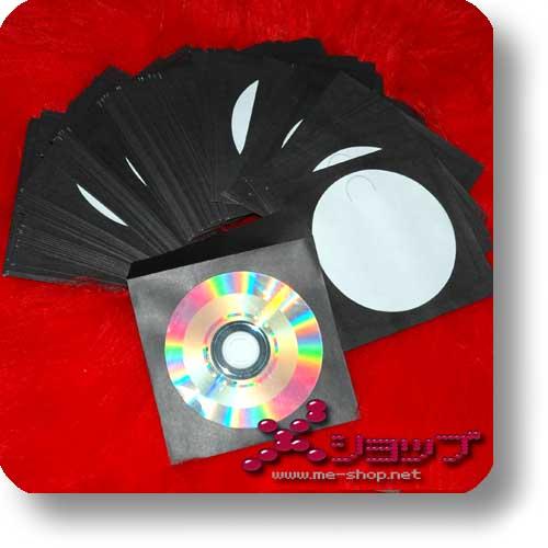 CD-PAPIERHÜLLE - schwarz (100 Stück)-0
