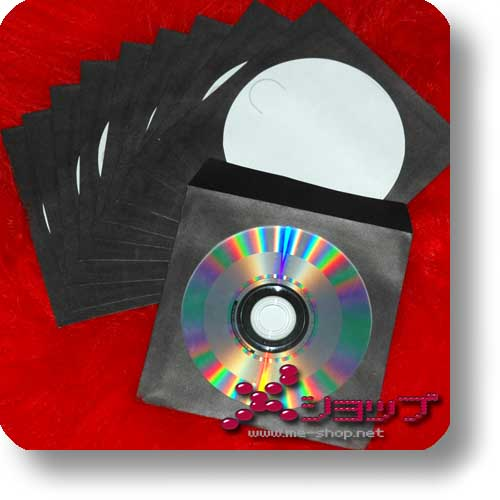 CD-PAPIERHÜLLE - schwarz (10 Stück)-0