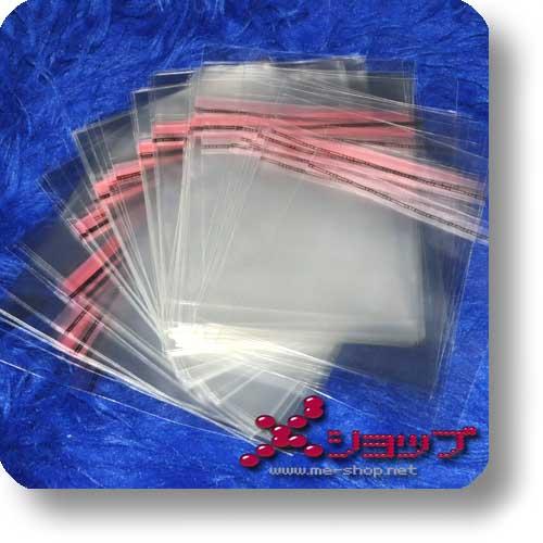 CD-SCHUTZHÜLLE - transparent, wiederverschließbar (100 Stück)-0