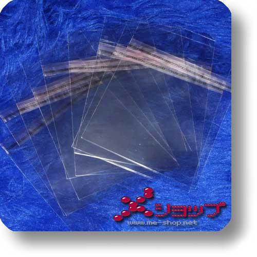 CD-SCHUTZHÜLLE - transparent, wiederverschließbar (10 Stück)-0