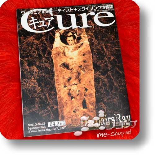 CURE Vol.5 (Februar 2004) D'espairsRay, Rentrer en Soi, Merry, Shulla... INKL.D'ESPAIRSRAY-POSTER! (Re!cycle)-0