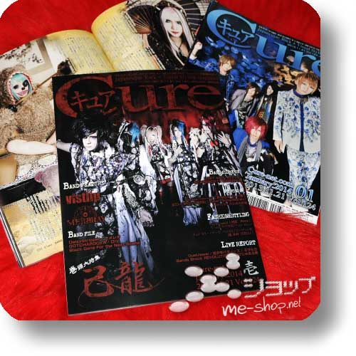 CURE Vol.124 (Januar 2014) KIRYU / BLU-BILLION, DaizyStripper, vistlip, Mejibray...-0