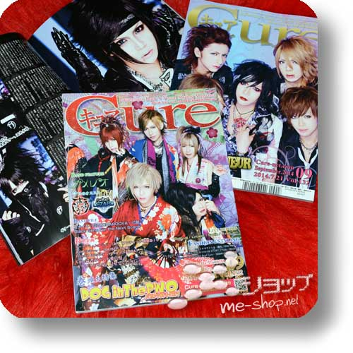 CURE Vol.132 (September 2014) DOG in the PWO / FEST VAINQUEUR, Kiryu, Gotcharocka, Lycaon...-0