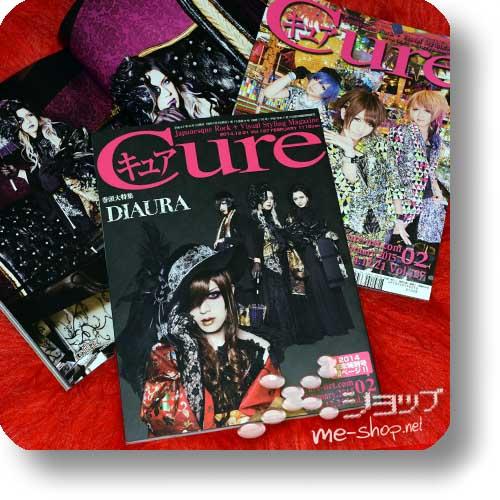 CURE Vol.137 (Februar 2015) DIAURA / LEZARD, R Shitei, Scapegoat, DOG in the PWO...-0