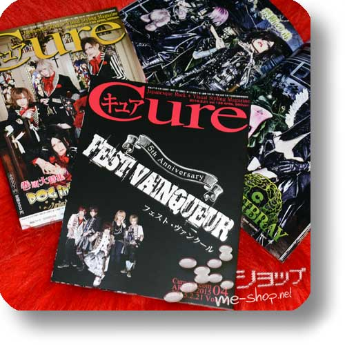 CURE Vol.139 (April 2015) FEST VAINQUEUR / DOG in the PWO, Mydragon, DIV, An Cafe, Mejibray...-0
