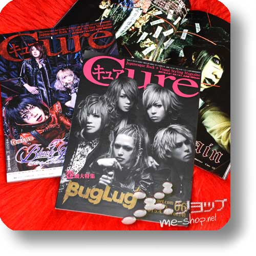CURE Vol.141 (Juni 2015) BUGLUG / BLACK GENE FOR THE NEXT SCENE, RoyZ, Rin, AvelCain, Moran...-0