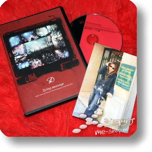 D - Dying message ~2012 Overseas Odyssey Tour Documentary & Off-Shot DVD~ +Bonus! (Re!cycle)-0
