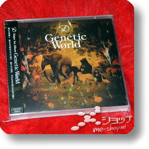 D - Genetic World - LIM.CD+DVD (B-Type) (Re!cycle)-0