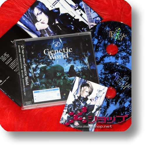 D - Genetic World - LIM.CD+DVD (A-Type)+Tradingcard! (Re!cycle)-0