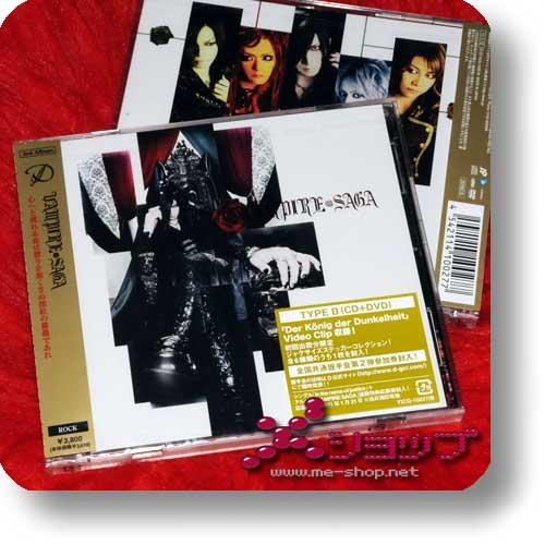 D - VAMPIRE SAGA - CD+DVD (B-Type) lim.1.Press-0