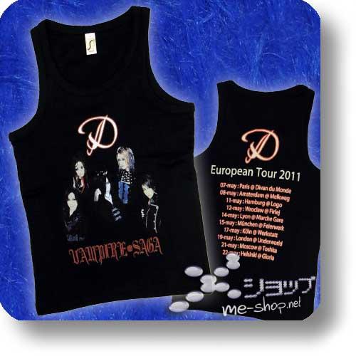 "D - VAMPIRE SAGA EU-Tour Original Tanktop ""Bandfoto"" Größe S-0"
