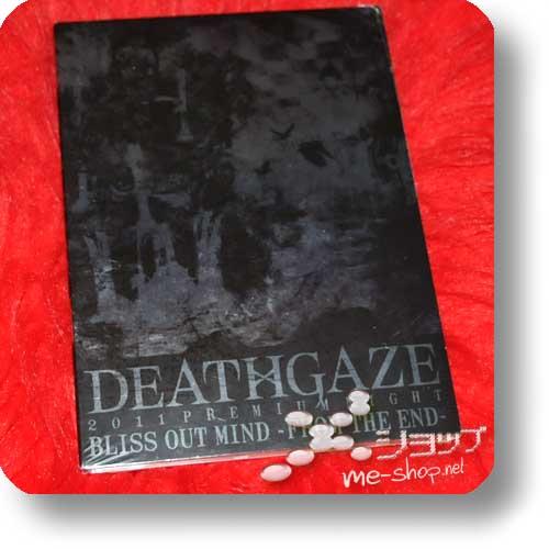 DEATHGAZE - 2011 PREMIUM NIGHT BLISS OUT MIND (Live-DVD) lim.Digipak-0