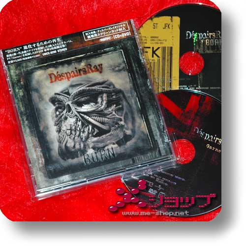 D'ESPAIRSRAY - BORN (lim.CD+DVD) (Re!cycle)-0