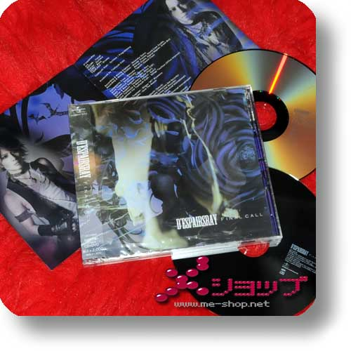 D'ESPAIRSRAY - Final Call (lim.CD+DVD A-Type inkl.live in Europe!)-0