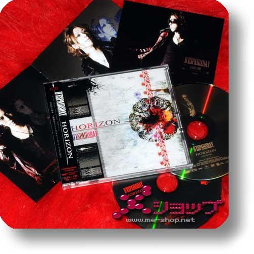 D'ESPAIRSRAY - Horizon LIM.CD+DVD+Fotokarte!-0