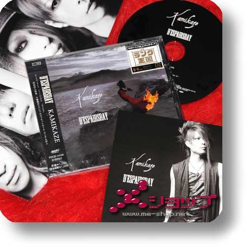 D'ESPAIRSRAY - Kamikaze +Bonustrack +Fotokarte!-0