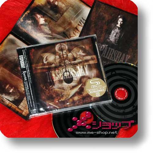 D'ESPAIRSRAY - Redeemer LIM.CD+DVD+Fotokarte! (Re!cycle)-0