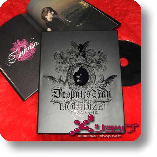 D'ESPAIRSRAY - Live Tour 2006 LIQUIDIZE lim.Box DVD+Photobook (Re!cycle)-0