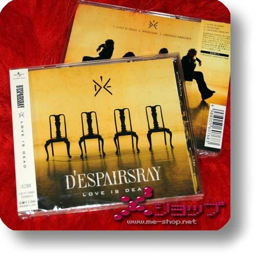 D'ESPAIRSRAY - Love is dead (inkl. Bonustrack!) (Re!cycle)-0