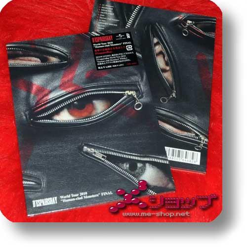 "D'ESPAIRSRAY - World Tour 2010 ""Human-clad Monsters"" (lim.DVD)-0"