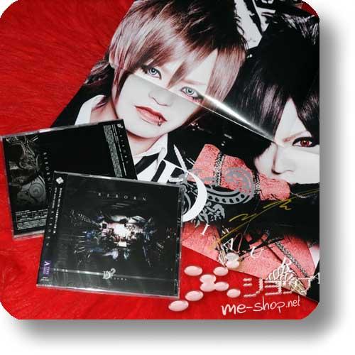 DIAURA - REBORN LIM.CD+DVD A +handsigniertes Promoposter!-0