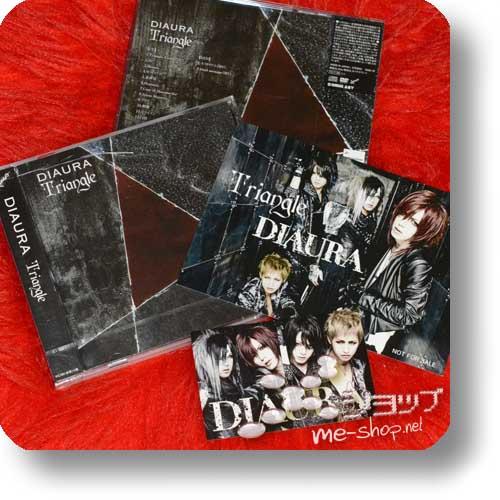 DIAURA - Triangle lim.CD+DVD B-Type +Bonus-Sticker+Fotokarte-0