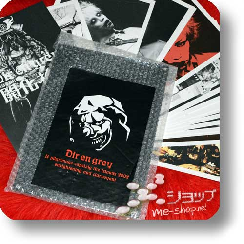DIR EN GREY - A pilgrimage capsizing... 2002 Original Tour Pamphlet/Photo Frame Set (Re!cycle)-0