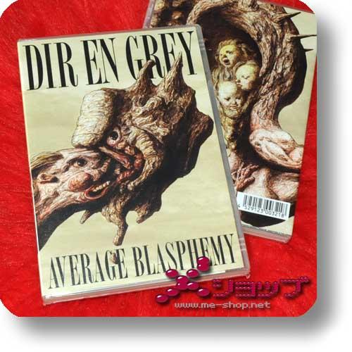DIR EN GREY - Average Blasphemy (DVD / Videoclip-Collection) (Re!cycle)-0