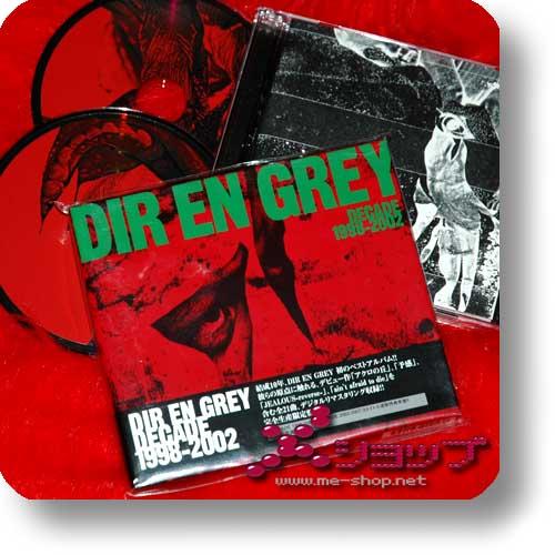DIR EN GREY - DECADE 1998-2002 (LIM.2CD) (Re!cycle)-0
