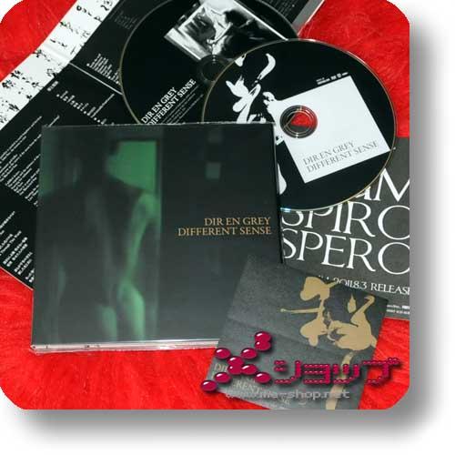 DIR EN GREY - DIFFERENT SENSE (LIM.CD+DVD+Sticker)-0