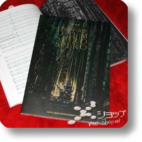 DIR EN GREY - DUM SPIRO SPERO BAND SCORE (Notenbuch)-0
