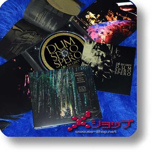 DIR EN GREY - DUM SPIRO SPERO (Deutsche Pressung / lim.Deluxe Edition inkl.Bonustracks+Sticker!)-0