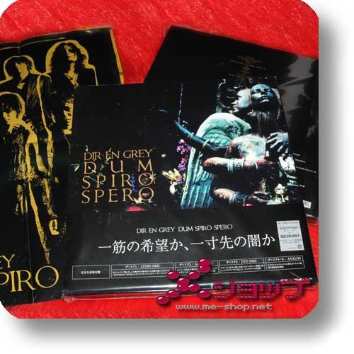 DIR EN GREY - DUM SPIRO SPERO lim.Box 2CD+2LP+DVD+Buch +Bonus-Promoposter-0