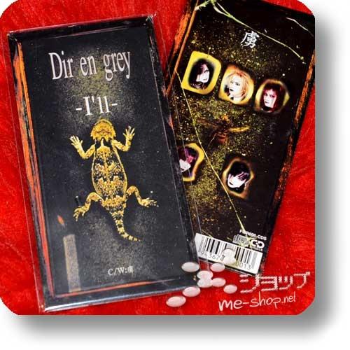 """DIR EN GREY - I'll (3""""/8cm-CD)-0"""