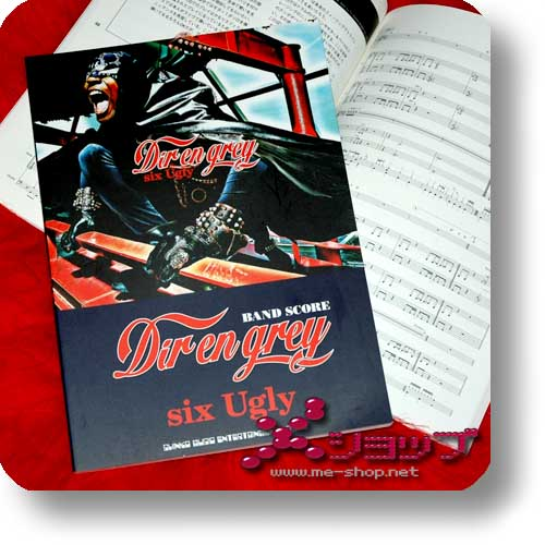 DIR EN GREY - six Ugly BAND SCORE (NOTENBUCH)-0