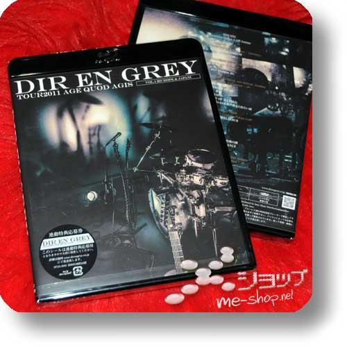 DIR EN GREY - TOUR2011 AGE QUOD AGIS VOL.1 EUROPE & JAPAN (lim.Blu-ray)-0
