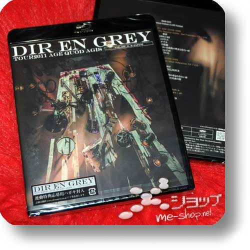 DIR EN GREY - TOUR2011 AGE QUOD AGIS VOL.2 U.S. & JAPAN (lim.Blu-ray)-0