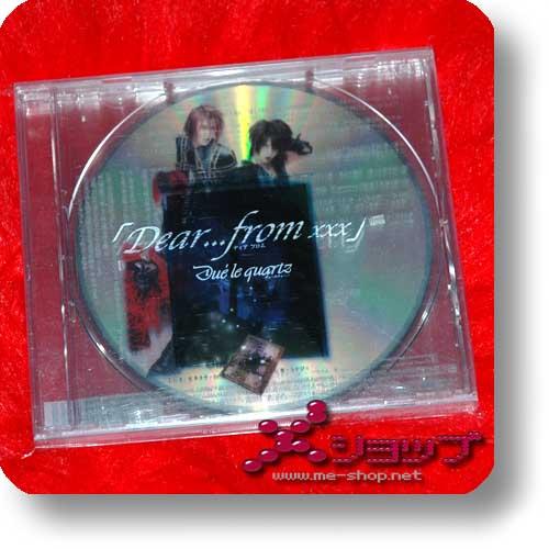 DUÉ LE QUARTZ - Dear...from xxx Disc-2 (MIYAVI) (Re!cycle)-0