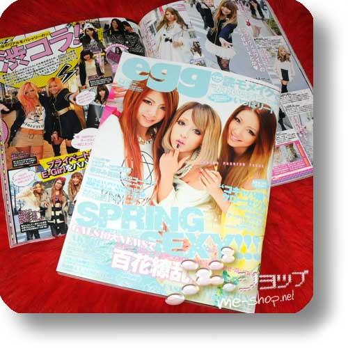 egg Vol.198 (Apr.13) Fashion- & Lifestyle-Magazin-0