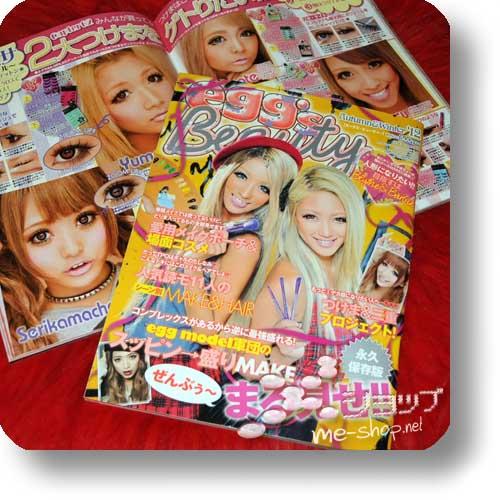 egg's Beauty 2012 Autumn-Winter (Fashion- & Lifestyle-Magazin)-0