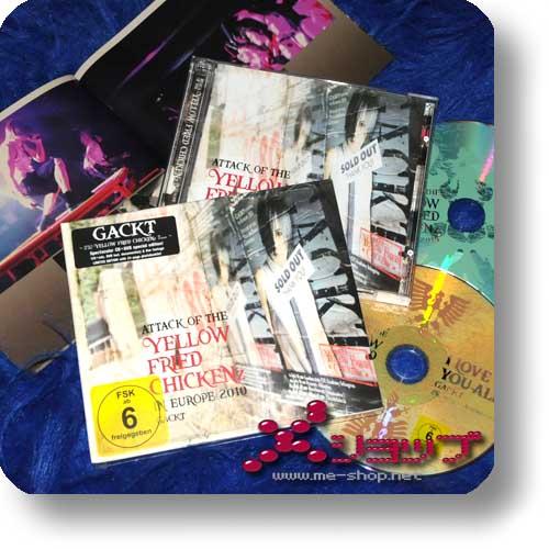 GACKT - Attack of the Yellow... (Deutsche Pressung / lim.CD+DVD)-0