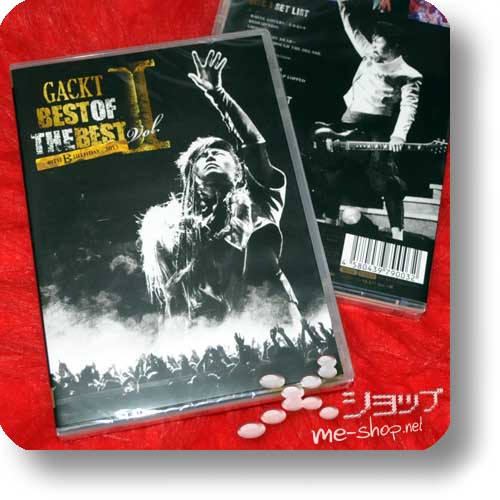 GACKT - BEST OF THE BEST Vol.I -40TH BIRTHDAY- 2013 (3Blu-Ray)-0