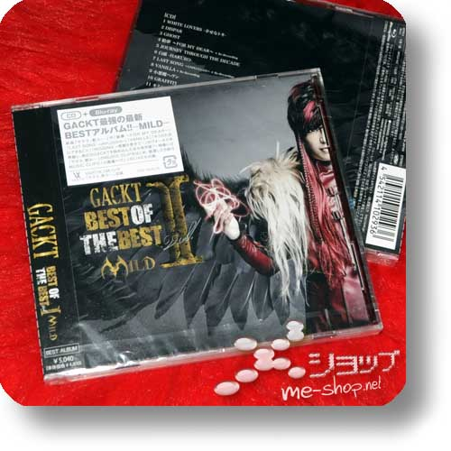 GACKT - Best of the best Vol.1 -MILD- LIM.CD+Blu-ray-0