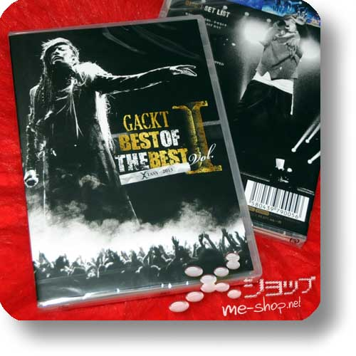 GACKT - BEST OF THE BEST Vol.I -XTASY- 2013 (3Blu-Ray)-0