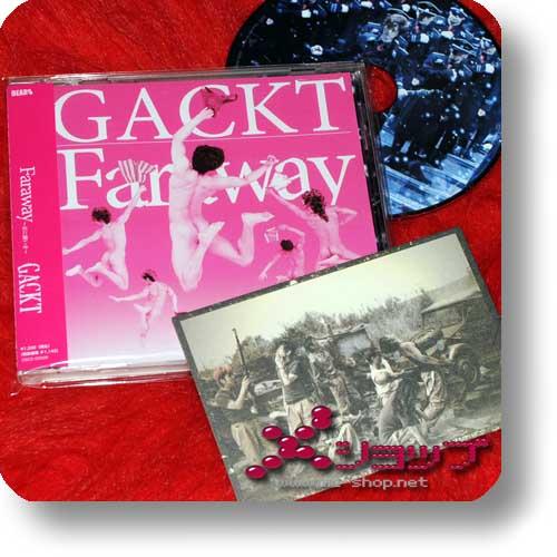 GACKT - Faraway DEARS LIMITED FANCLUB EDITION inkl.Fotokarte! (Re!cycle)-0