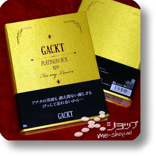 GACKT - Platinum Box XIV (DVD + Ohashi-Reiseset) LIM.BOX-0
