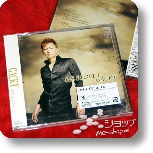 GACKT - P.S. I LOVE YOU (LIM.CD+DVD)-0