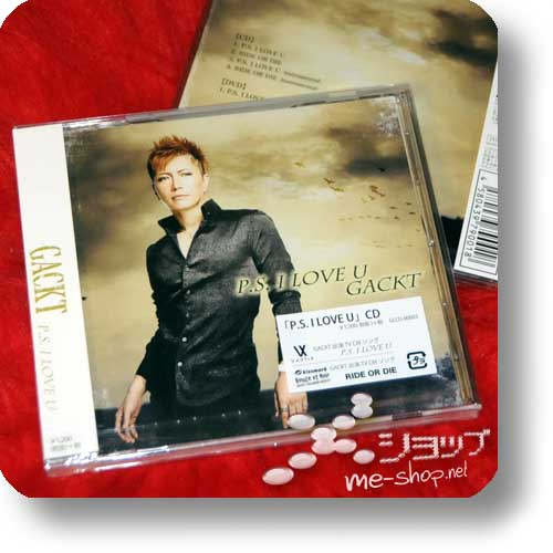 GACKT - P.S. I LOVE YOU (LIM.CD+DVD) (Re!cycle)-0