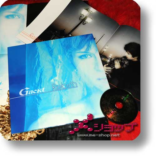 GACKT - Rebirth lim.Premium Collection SACD inkl.Riesenbooklet und Poster! (Re!cycle)-0